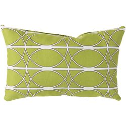 Coinciding Circles Pillow