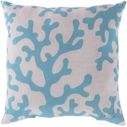 Charming Coral Throw Pillow