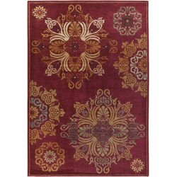 Arabesque Burgundy Rug