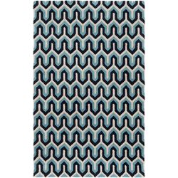 Naya Navy Geometric Area Rug