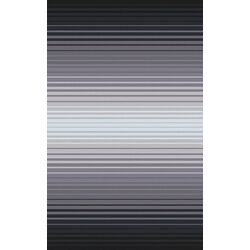 Indus Valley Charcoal/Gray Stripe Area Rug