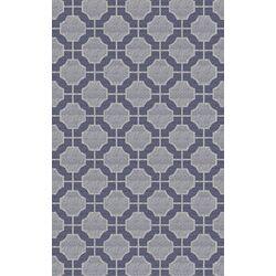 Dream Light Gray/Slate Geometric Area Rug