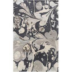 Banshee Charcoal/Gray Area Rug