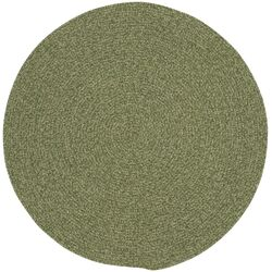 Manteo Deep Green Solid AreaRug