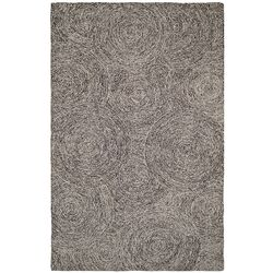 Polar Ivory/Black Geometric Area Rug