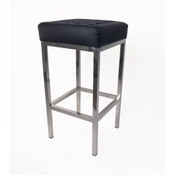 The Florence Tufted Vinyl Barstool