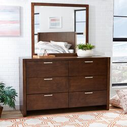 Capricorn 6 Drawer Dresser