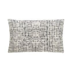 Abstract Grid Small Pillow