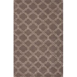 Baroque Gray/Ivory Area Rug