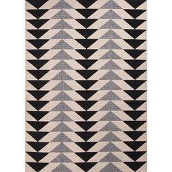 Patio Ivory & Black Area Rug
