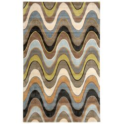 Fusion Serendipity Brown Area Rug