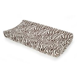 Basics Zebra Velour Changing Pad Cover