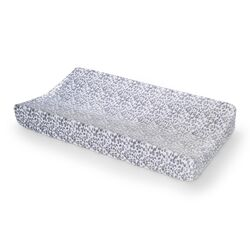 Basics Cheetah Velour Changing Pad Cover