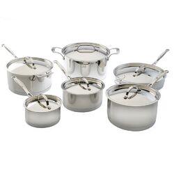 EarthChef Acadian 12-Piece Cookware Set by BergHOFF