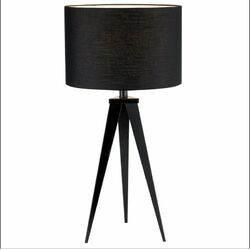 Director Table Lamp in Black