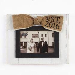 Wedding Est. 2016 Picture Frame