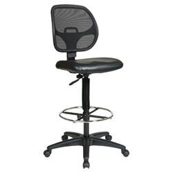 Glendale Height Adjustable Drafting Chair with Footring