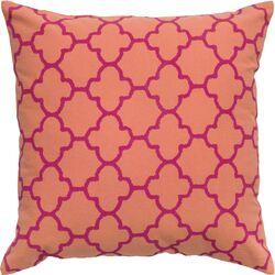 Print Cotton Throw Pillow