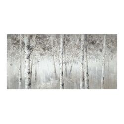 Winter Woodland Painting Print
