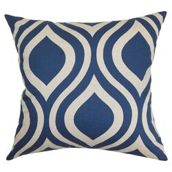 Brock Cotton Throw Pillow