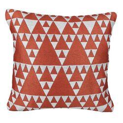 Urban Loft Triangles Throw Pillow