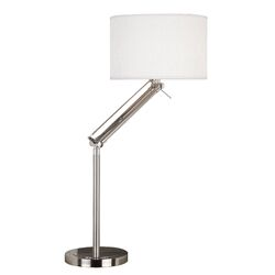 Hydra Table Lamp in Brushed Steel