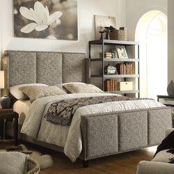 Fresco Queen Upholstery Panel Bed