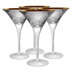 Brocade Martini Glass
