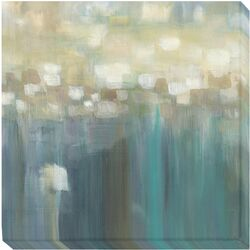 Aqua Light by Karen Lorena Parker Graphic Art on Wrapped Canvas