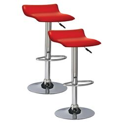 Favorite Finds Adjustable Height Swivel Bar Stool