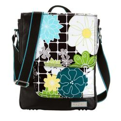 On The Run iPad O'Floral Messenger Bag