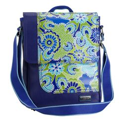 On The Run iPad Jazz Cobalt Messenger Bag