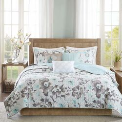 Makena 6 Piece Quilted Coverlet Set