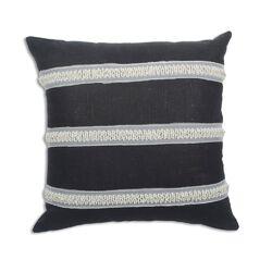 Circa Solid Cactus Linen Throw Pillow