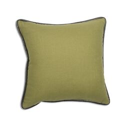 Circa Solid Linen Throw Pillow