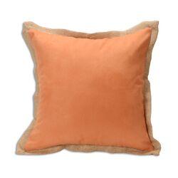 Slam Dunk Burlap Throw Pillow