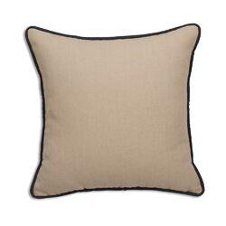 Corded Linen Throw Pillow