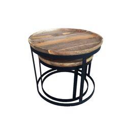 Kota Rosera 2 Piece Nesting Tables