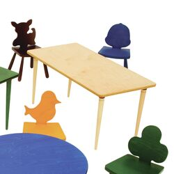 Kids Rectangle Arts and Crafts Table