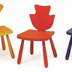 Leaf Poplar Kids Novelty Chair