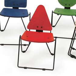 Shape Triangle Kids Novelty Chair