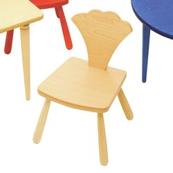 Leaf Ginkgo Kids Novelty Chair