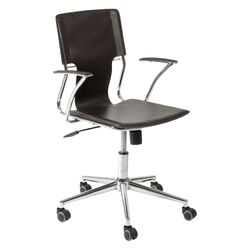 Terry High-Back Leatherette Office Chair