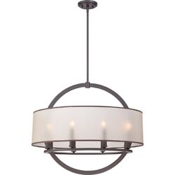 Portland 8 Light Drum Pendant