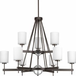 Compass 9 Light Chandelier