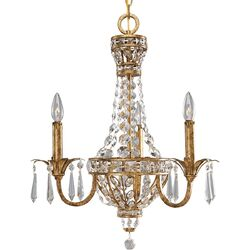 Palais 3 Light Candle Chandelier