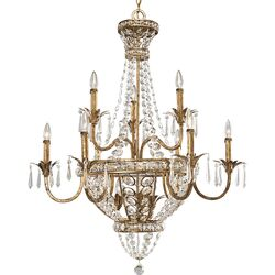 Palais 12 Light Candle Chandelier