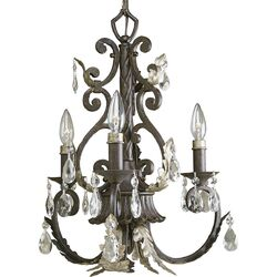 Savona 3 Light Candle Chandelier