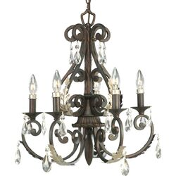 Savona 5 Light Candle Chandelier