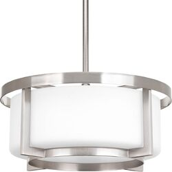 Dynamo 2 Light Drum Pendant